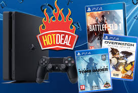 black friday deals on ps4 pre black friday deal ps4 slim battlefield 1 overwatch tomb