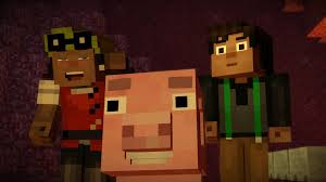minecraft story mode episode two assembly required review