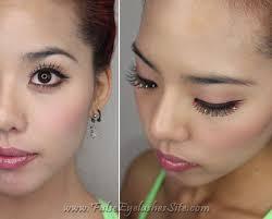 diy colorful halloween lashes false eyelashes blog