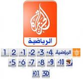 تردد قنوات الجزيرة الرياضة على نايل سات 2012