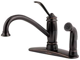 Kitchen Faucets Ebay by Pfister Lf034 3als Brookwood 1 Handle Kitchen Faucet With Side