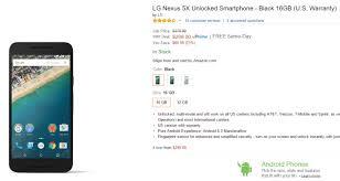 amazon black friday list updated killer black friday deal nexus 5x 80 off on amazon b u0026h