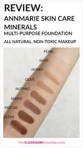 review annmarie skin care minerals multi purpose foundation