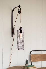 Wall Light With Plug Wall Lights Interesting Wall Sconce Industrial Marvelous Wall