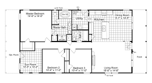 view the great escape floor plan for a 1458 sq ft palm harbor