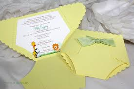Invitation Cards For Baby Shower Templates Diaper Invitations For Baby Shower Kawaiitheo Com