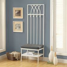 White Entryway Table by White Entryway Mini Hall Tree Coat Rack Stand Home Furniture Decor