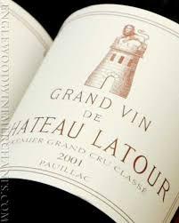 chateau latour label