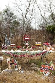 alluring outdoor christmas party for children decor complete