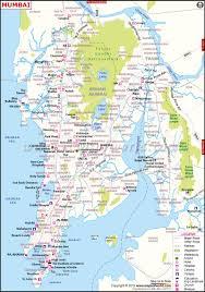 India Map Quiz by Mumbai Map City Map Of Mumbai Maharashtra India