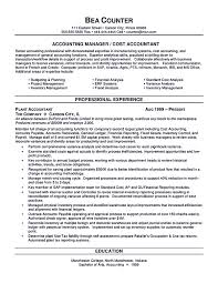 Chief Accountant Resume Sample Professional Accounting Resume Templates Free Resume Example And