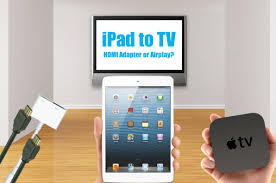 connect samsung smart tv to home theater how to connect an ipad to tv with hdmi or wireless airplay