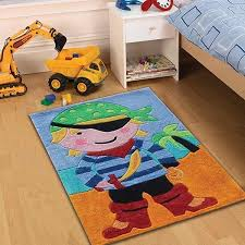 Coloured Rug Flair Rugs Kiddy Play Pirate Childrens Rug Multi Coloured