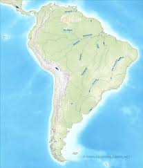 Map Of The South America by South America Physical Map U2013 Freeworldmaps Net