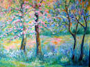 PRINTEMPS : Pastel on paper - Marteen Olivier Vigroux