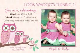 12 twin birthday invitations templates u2013 free sample printable