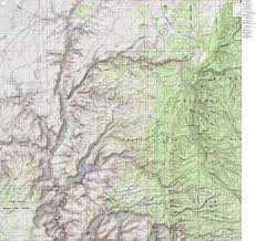 Map Az Snake Gulch In Kanab Creek Wilderness Long Ranger Snake Gulch To