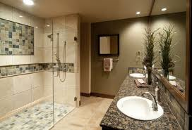 30 interesting ideas glass tile accent wall bathroom