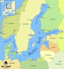 Thousand Islands Map Baltic Sea Wikipedia