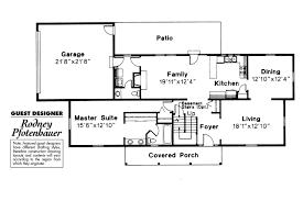 colonial house plans namskaket 42 004 associated designs