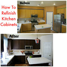Clean Grease Off Kitchen Cabinets How To Refinish Your Kitchen Cabinets Latina Mama Rama