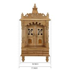 sevan wood mandir temple for home and offices sw121633 sevan