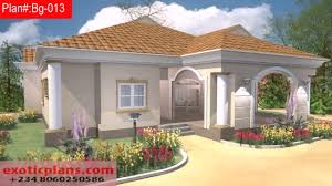 free 4 bedroom bungalow house plans in nigeria youtube