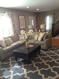 Living Room Colors With Brown Furniture Bookshelf Between Couch And Door For End Table Landing Strip