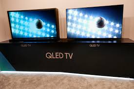 connect samsung smart tv to home theater samsung says its new qled tvs are better than oled tvs the verge