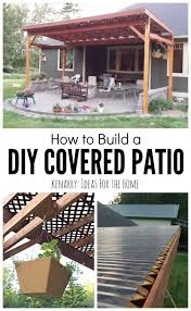 Enclosing A Pergola by The 25 Best Patio Roof Ideas On Pinterest Outdoor Pergola