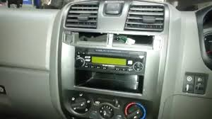 how to remove a holden colorado rodeo radio youtube