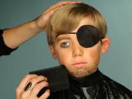 kid u0027s halloween makeup tutorial pirate hgtv