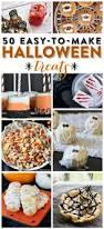 halloween treats 50 easy to make halloween treats