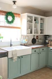 chalk painted kitchen cabinets 2 years later kitchens chalk