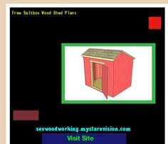 Free Saltbox Wood Shed Plans by Woodworking Projects For Beginners Do Do It Yourself Garage And