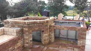 Diy Outdoor Kitchen Ideas Kitchen Pre Made Outdoor Grill Island Rustic Outdoor Kitchen Diy