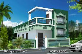 north facing house plans with elevation design sweeden