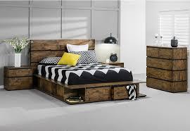 Trillian  Piece Queen Tall Chest Suite Super Amart House - Super amart bedroom packages