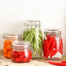 Glass Canisters For Kitchen Clear Kitchen Canisters Promotion Shop For Promotional Clear