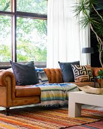 Chesterfield Sofa Leather by Higgins Chesterfield Sofa In Dakota Modern Saddle Caramel Leather