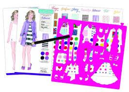 amazon com american beforever fashion sketch portfolio toys