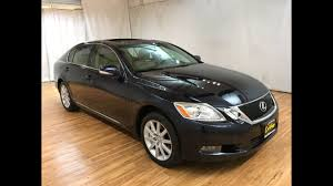 mcgrath lexus of westmont used cars 2008 lexus gs 350 awd navigation moonroof rear cam carvision