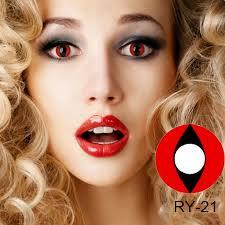 halloween contact lens crazy lens cat eye vampire sharingan