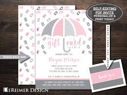 Invitation Card Store Gift Card Shower Invitation Gift Card Baby Shower Baby
