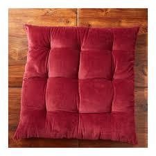 maison du monde coussin de sol coussin de sol capitonné rouge monoprix maison u2013 monoprix fr