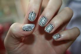 images of line design nail art asatan easy line nail