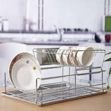 Plastic Dish Drying Rack Urban Red Dish Drying Rack Plastic Dish Drainer Plate Removable