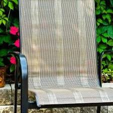 Replacement Patio Chair Slings by The Fabric On Our Deck Chairs Is Starting To Rip But The Frame Is