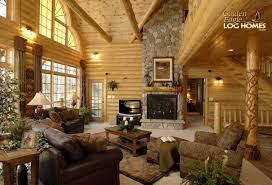 how to design a cozy log cabin log homes org