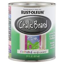 rust oleum specialty 29 oz tintable chalkboard paint 243783 the